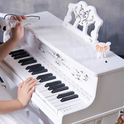 儿童电子琴女孩钢琴麦克风