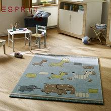 ESPRIT男孩进口腈纶小象儿童房卧室地毯 卡通动漫地毯 游戏地毯