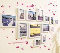 简约现代照片墙组合客厅卧室装饰创意悬挂画框相片墙相框挂墙