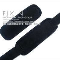 背包挎包透气防滑肩垫 黑色护垫 3.8CM圆脚肩带垫 5元/个