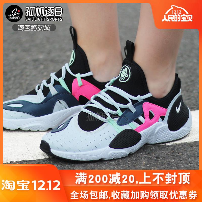 NIKE耐克女鞋华莱士HUARACHE休闲运动机能跑步鞋 AQ2431-002 100