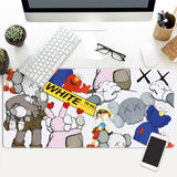 Tide brand graffiti Kaws personality Sesame Street large mouse pad lock game computer keyboard non-slip table mat
