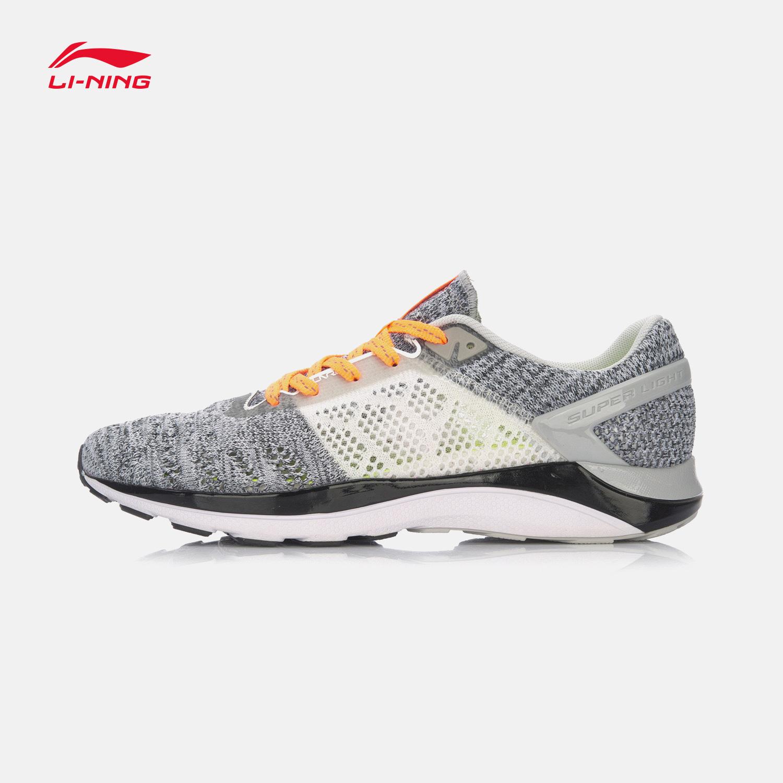 李宁正品17夏季新款 女子超轻14代网面透气轻质跑鞋运动鞋ARBM028
