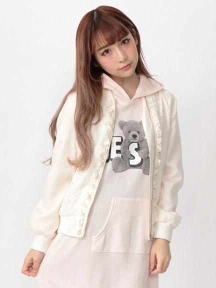 小回的铺 @NK 17新作 软妹绗棉穿珠棒球服