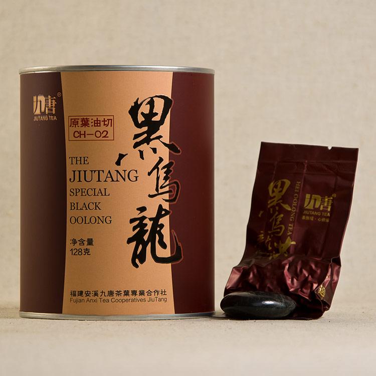 克 500 炭香型乌龙茶茶叶正品 油切黑乌龙茶 黑乌龙茶特级 九唐