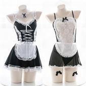 情趣内衣性感制服撩汉蕾丝COS女仆装夏可爱诱惑女佣套装动漫出品