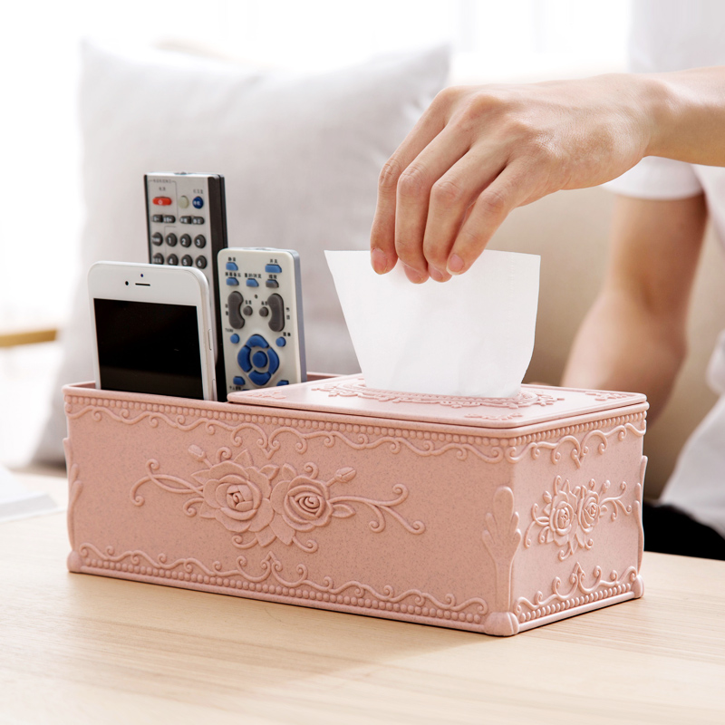 雕花纸巾盒