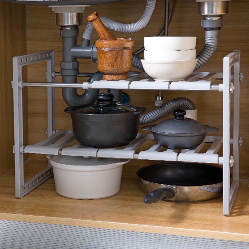 下水槽置物架不锈钢