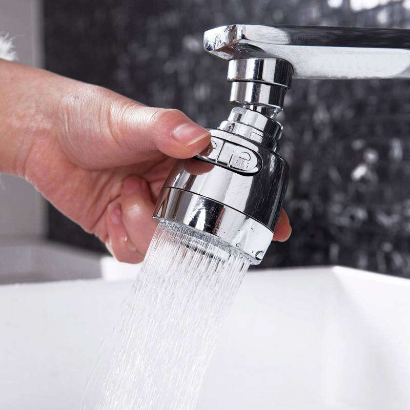 水龙头防溅头加长延伸器厨房家用自来水花洒节水可旋转过滤喷头嘴