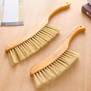 居家家软毛床刷鬃毛清洁刷沙发扫把刷子长柄除尘刷笤帚扫床刷小号
