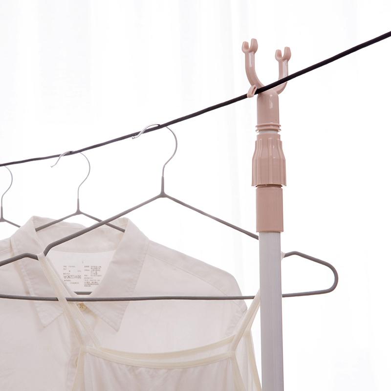 伸缩衣叉晾衣杆晾衣叉挂衣服的杆子家用挑衣杆晒衣杆撑衣杆插衣棍