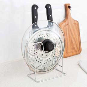 居家家不锈钢砧板锅盖架厨房菜板置物架放锅盖的架子收纳架菜板架