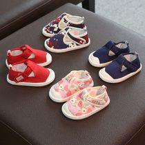 儿童布鞋女1-3岁男宝宝老北京千层底婴儿学步鞋防滑软底2单鞋春秋