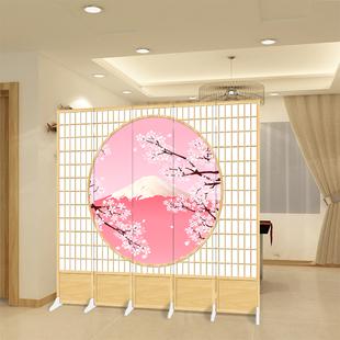 屏风双面玄关日式现代简约折叠屏时尚 酒店餐厅客厅隔断 新款