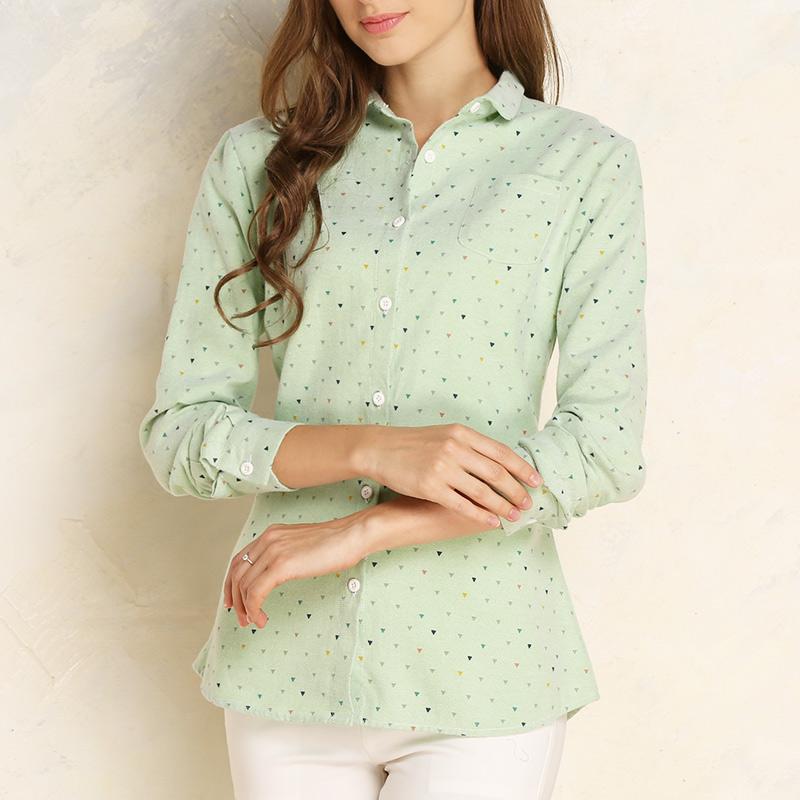 NALADECS 春季新款韩版休闲长袖女衬衫