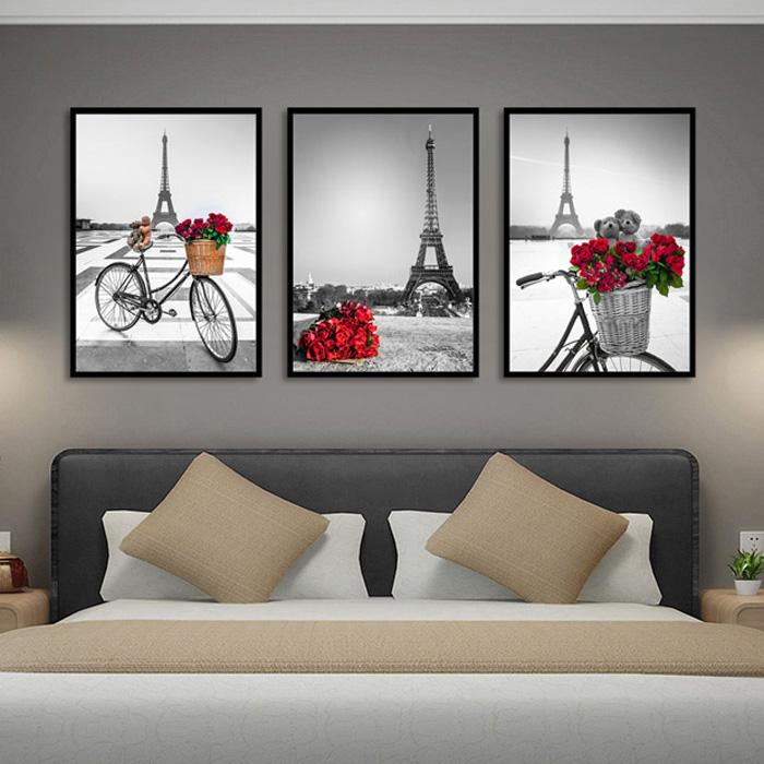 装饰画客厅巴黎铁塔