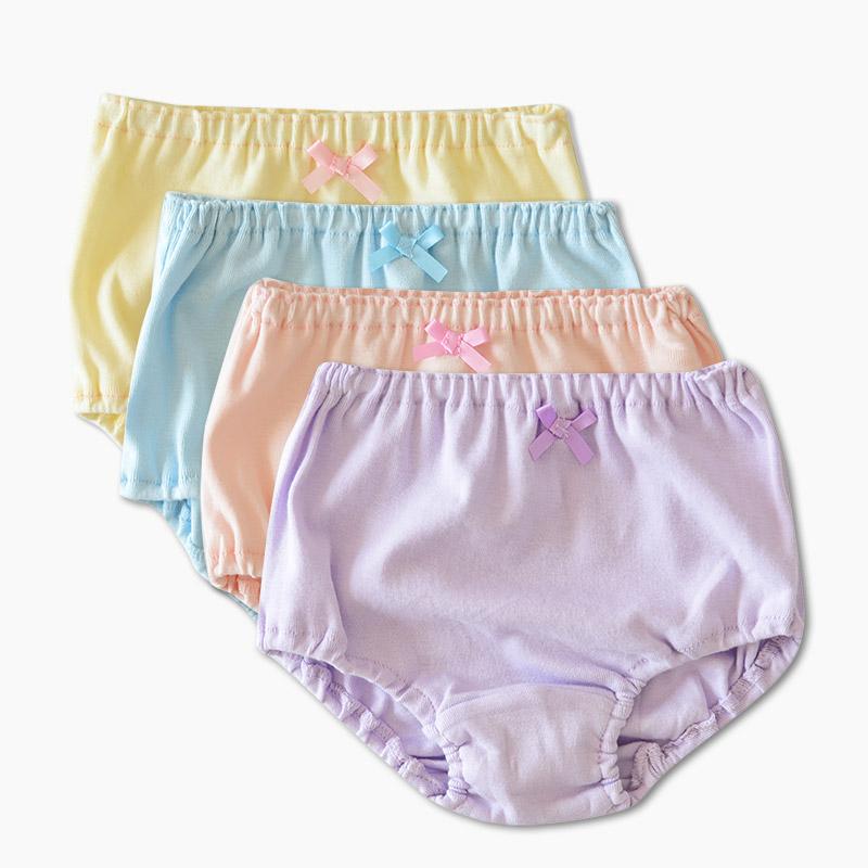 女童 纯棉内裤 全棉面包裤 舒适透气 中大童 四季可穿