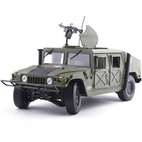 Kaidewei 1:18 alloy military model US military Hummer model land vehicle SUV metal simulation car
