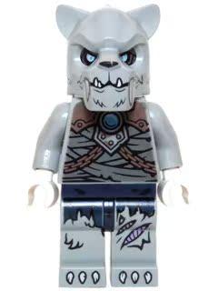全新 乐高Lego 气功传奇系列 人仔 loc126 剑虎战士配武器