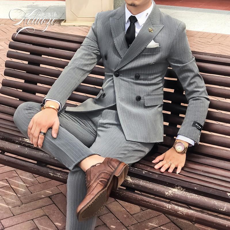 Деловые костюмы для мужчин Артикул 574422995974