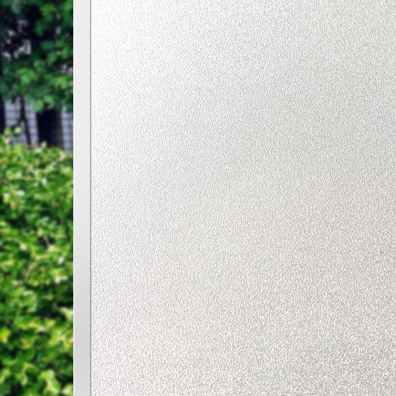 静电磨砂玻璃贴膜贴纸办公室浴室卫生间窗户装饰窗花贴透光不透明