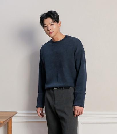 韩国男士新款Mutnam秋冬新品时尚男士毛针织衫