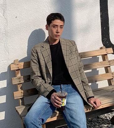 皇帝代购韩国直邮Mutnam正版时尚新款男士西装