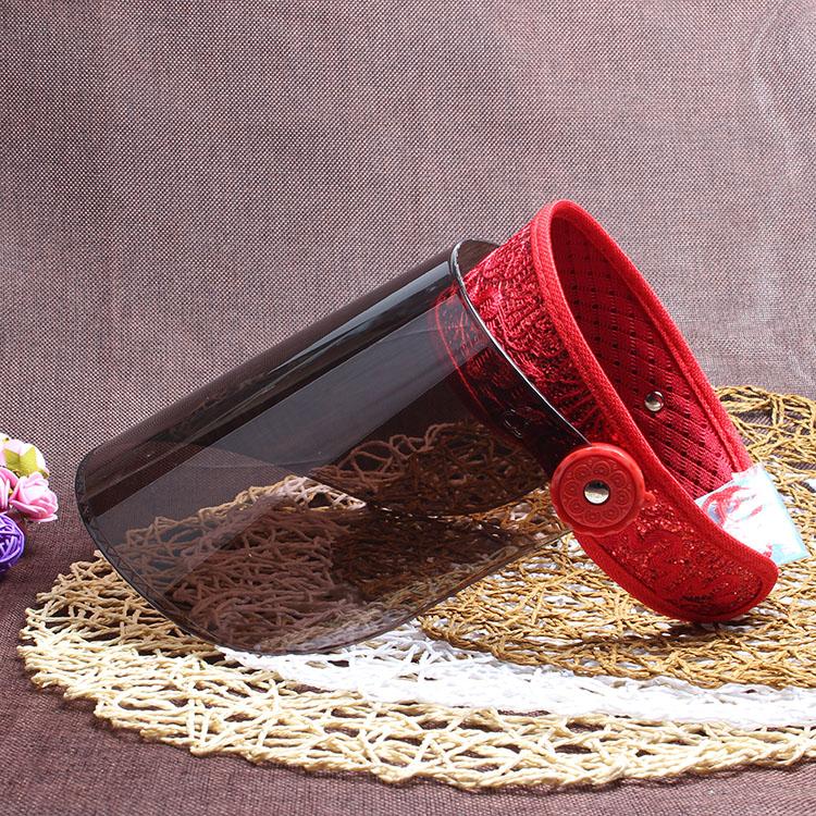 天天特价男女太阳帽镜面防晒帽防紫外线遮阳帽防风户外骑行空顶帽