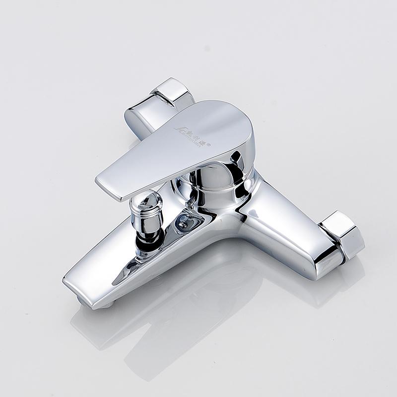 全铜淋浴龙头浴缸龙头浴室暗装三联 淋浴开关 冷热水龙头 混水阀