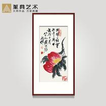 祝贺寿礼品客厅卧室已装裱名家人真迹书法作品手写福寿安康字书画
