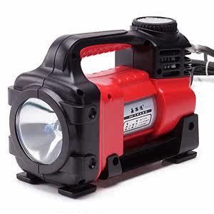嘉西德 车载汽车用打气泵 汽车充气泵 照明灯胎压表打气泵 0365