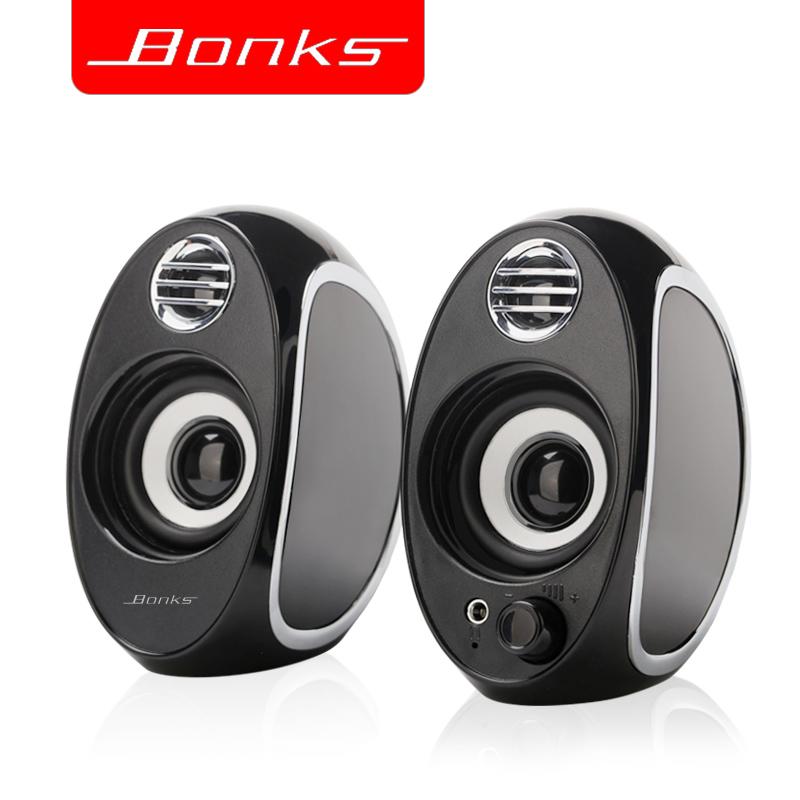 Bonks DX18笔记本小音箱台式电脑音响便携usb迷你手机低音炮家用