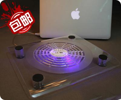 笔记本散热器14寸15.6寸电脑手提电脑支架 垫散热底座大风扇包邮