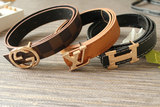 Baby waist accessories PU leather belt boy casual belt leather trend
