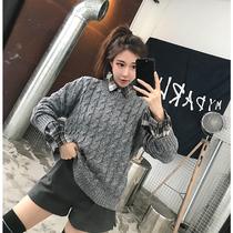 秋冬季新款韩版甜美泡泡袖中长款开衫外套女上衣批发2018微商女装