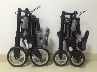迷你型8寸折叠自行车自行车折叠小折叠车免充气abike脚踏车代步车