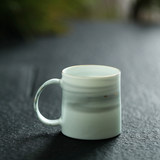Landscape between ink pottery cup coffee cup handmade ceramic mug female male creative gift water cup home