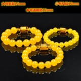Opening the chalcedony, three sides, the big black, the god of wealth, lucky fortune bracelets, men and women, couples, transfer beads, bracelet