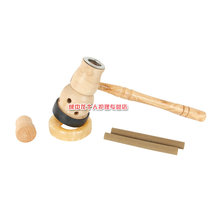 Hardcover wooden aromatherapy umbilical therapy instrument navel moxibustion therapy umbilical therapy moxibustion gourd moxibustion moxibustion smoked umbilical furnace aromatherapy appliance