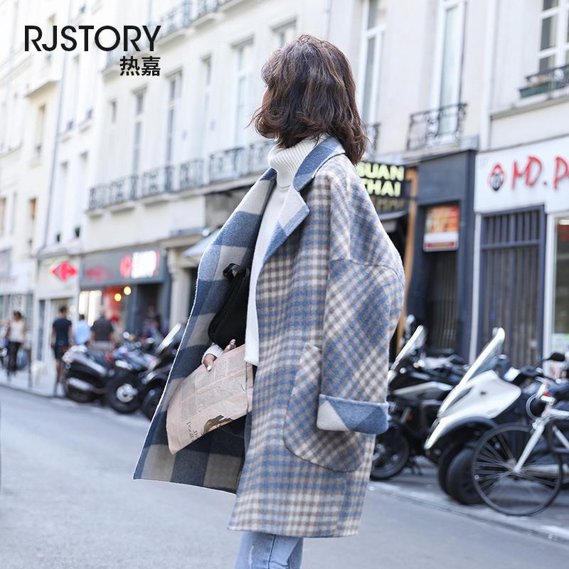 韩版女装羊毛大衣