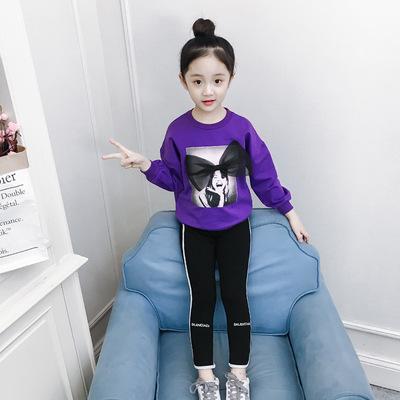 男童牛仔短款2018秋装新款韩版中大童12小学生15岁卫衣儿童短款