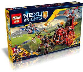 元素骑士团小丑的巨轮炎魔碉堡组装拼装积木乐高未来骑士团14005