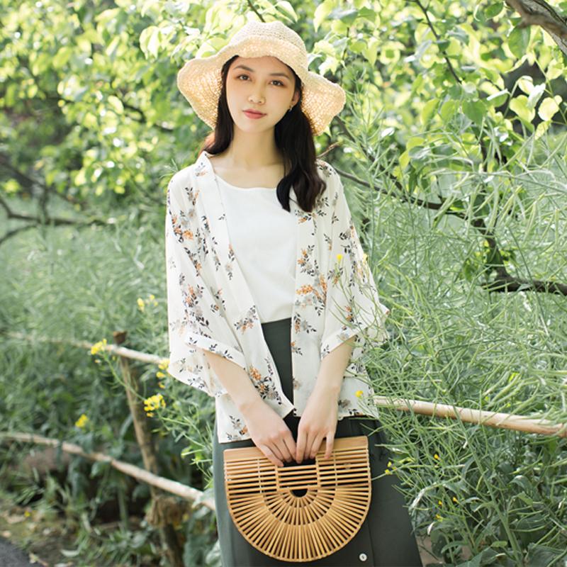 古典雪纺雪纺衫