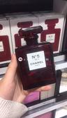 现货!法国专柜 Chanel/香奈儿圣诞限量 5号香水 红色圣诞版