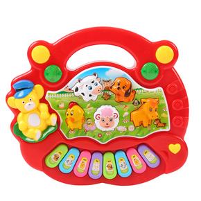 动物农场音乐琴 宝宝启蒙早教玩具 益智婴儿电子琴乐器0-1-2-3岁