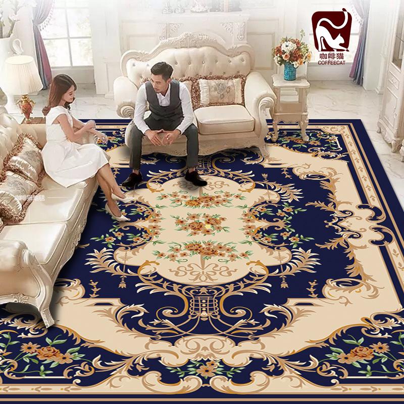 客厅欧美满铺毯