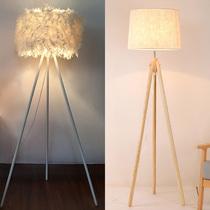 现代简约落地灯卧室床头客厅沙发灯北欧创意遥控茶几置物立式台灯
