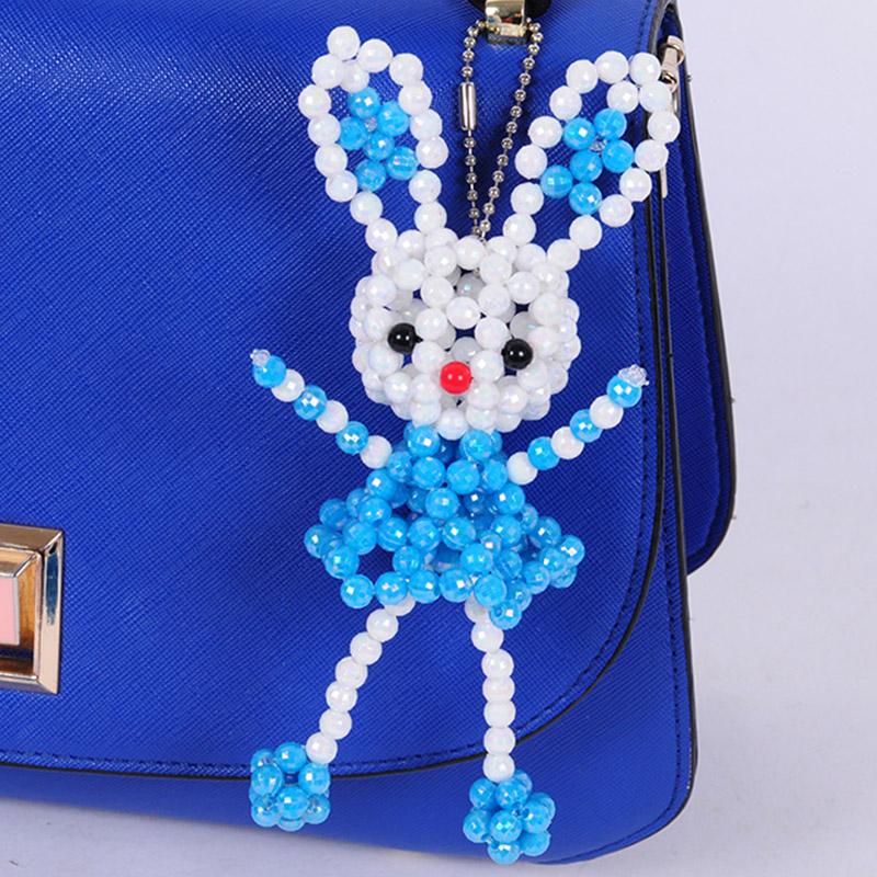 手工串珠兔子材料包
