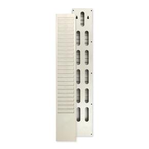 25位考勤卡架纸卡打卡机卡架卡纸插卡架8.5cm宽插卡槽物资卡卡架