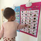 有声挂图早教发声儿童看图识字宝宝拼音字母表启蒙墙贴汉语音全套